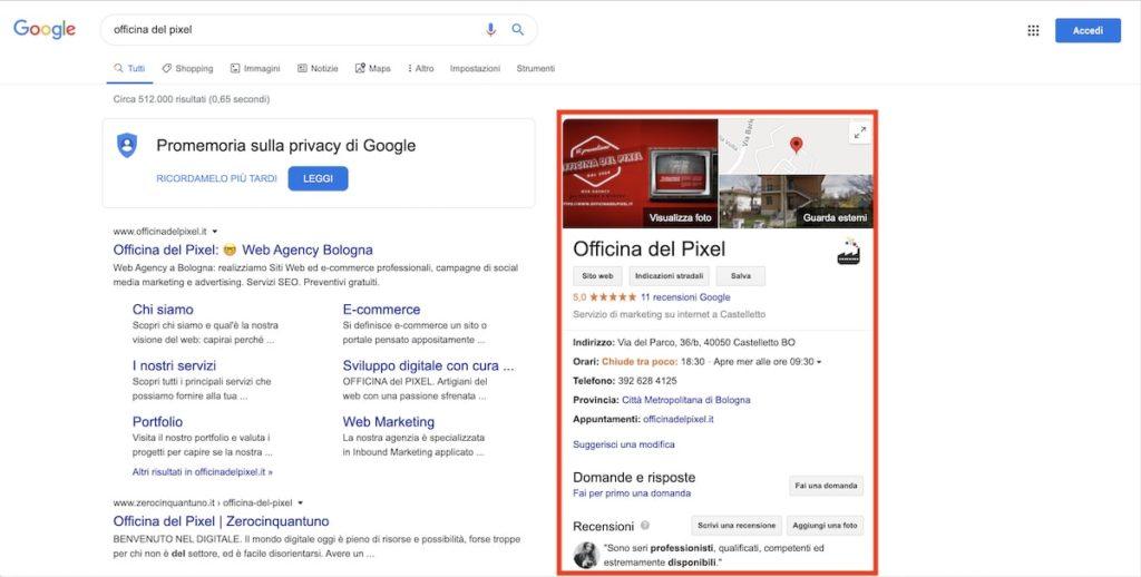 Come sfruttare Google My Business